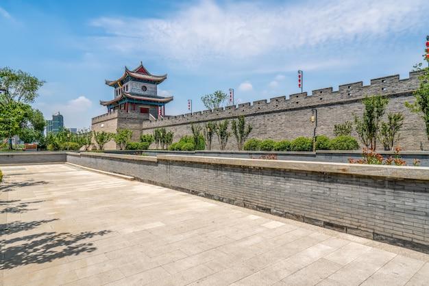 Qingdao jimo ancient city building