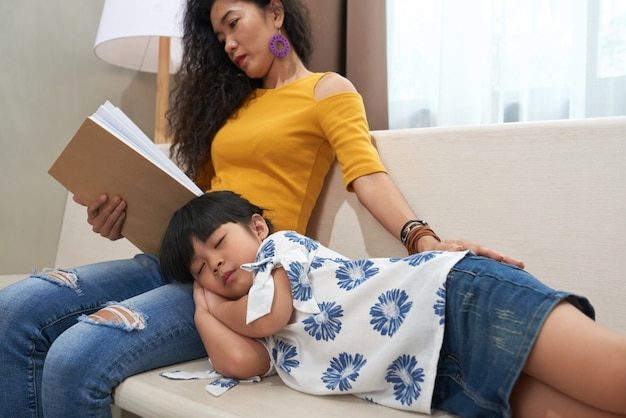 Quand sa fille dort