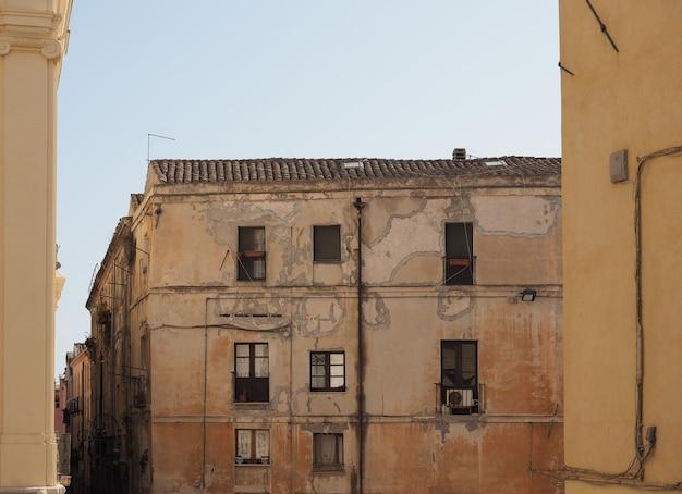 Quartier castello à cagliari