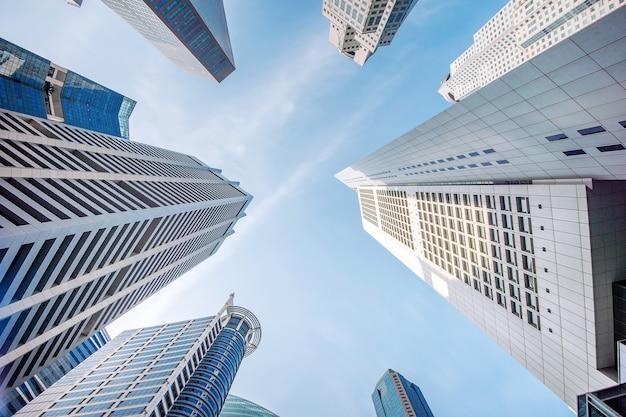 Quartier central des affaires à singapour.