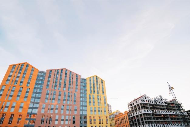 Quartier en développement du quartier