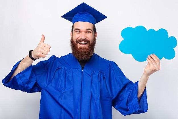 Que pensez-vous de votre diplôme. c'était génial.