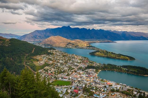 Queenstown, île du sud nouvelle-zélande
