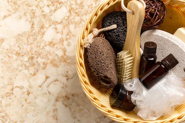 Quelques accessoires de bain