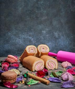 Quelques biscuits prêts à manger le jour de la célébration