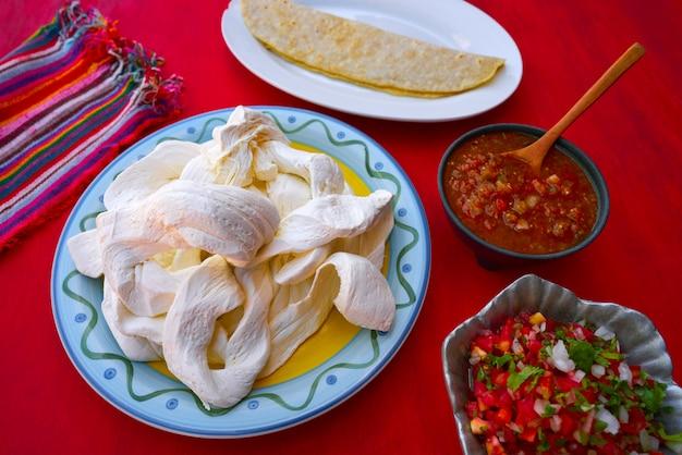 Quesadilla au fromage oaxaca du mexique