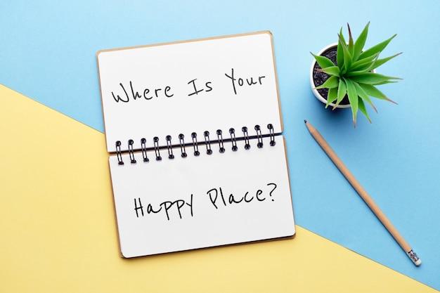 Question philosophique sur les lieux préférés et les voyages.