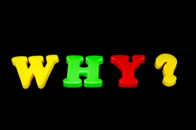 Questions, réponses sur un fond lumineux bã âªack.
