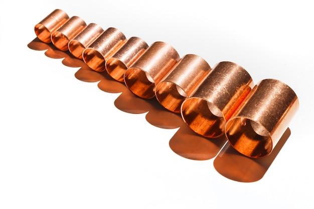 Raccords de tuyauterie en cuivre