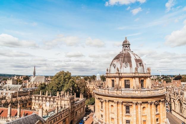 Radcliffe camera et all souls college de l'université d'oxford. oxford, royaume-uni.