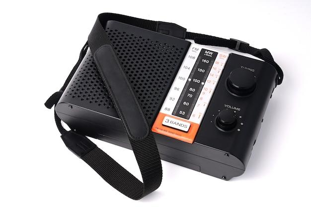 Radio vintage pour écouter des programmes radio