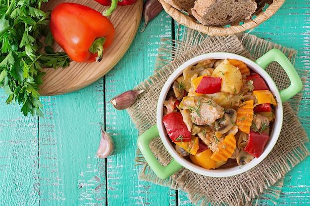 Ragoût de viande aux légumes