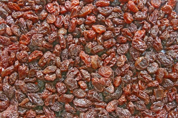 Raisin sec sans pépins, motif de texture de fond