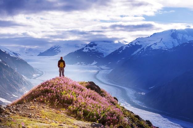 Randonnée en alaska en été