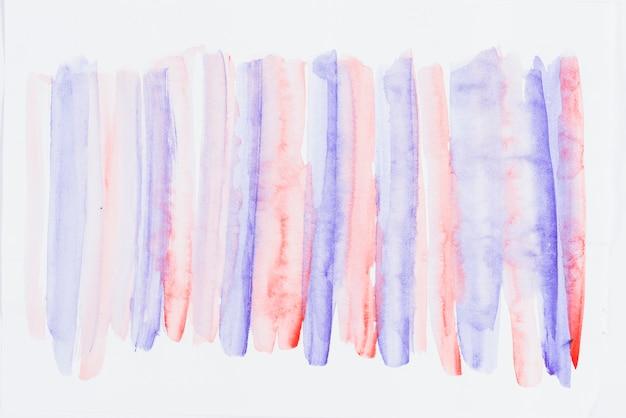 Rangée de fond texturé de coup de pinceau bleu et rouge
