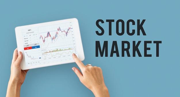 Rapport de graphique commercial forex financier