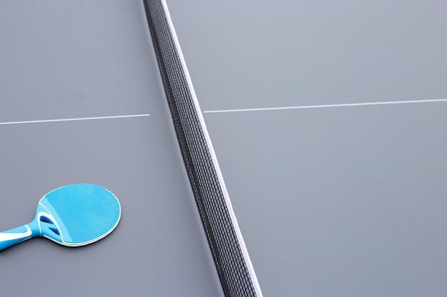 Raquette et filet d'équipement de tennis de table