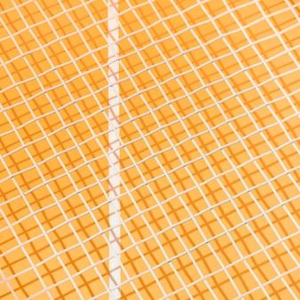 Raquette de tennis nature morte close-up