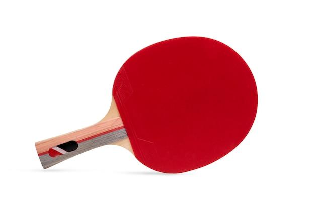 Raquette de tennis de table professionnelle isolé sur fond blanc