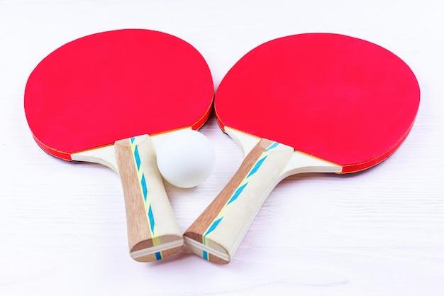 Raquettes de tennis de table