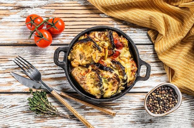 Ratatouille, plat de légumes maison