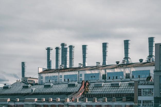 Raushskaya naberezhnaya ges 1. entreprise d'électricité, moscou.