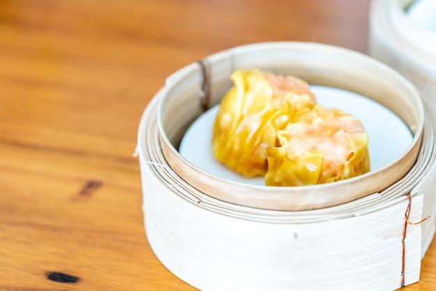 Raviolis aux crevettes - dim sum