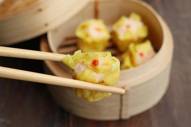 Raviolis à la vapeur de crevettes chinoises