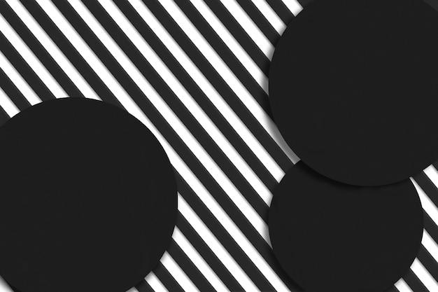 Rayé noir et blanc