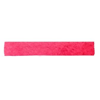 .rayure aquarelle rose. coup de pinceau aquarelle dessiné à la main