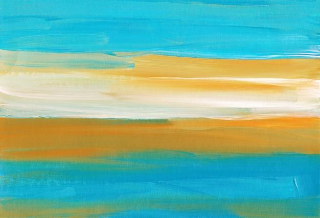 Rayures Colorées Abstraites Peinture Texture D'arrière-plan Photo Premium