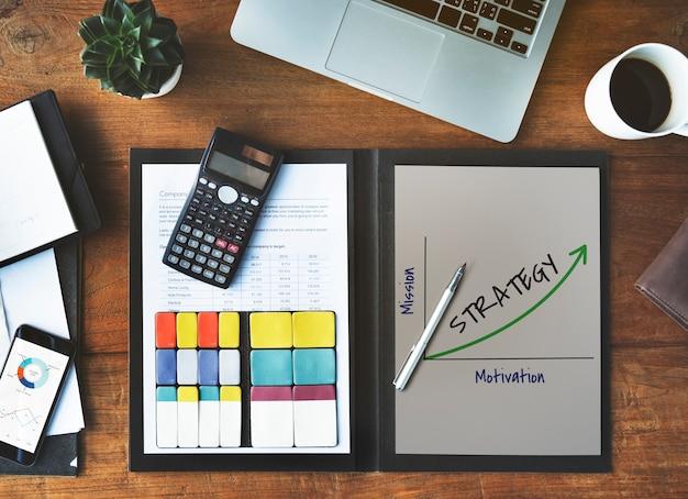 Réalisation créativité stratégie succès icône