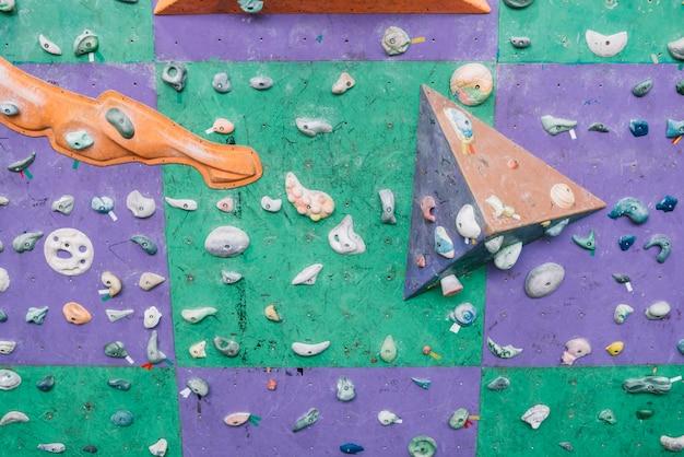 Rebords et poignées sur le mur