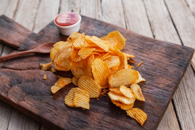Recette de chips au paprika fumé maison
