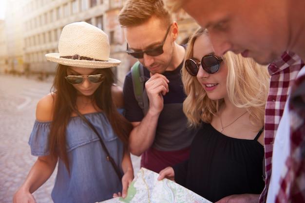 Recherche de l'endroit le plus populaire de la ville