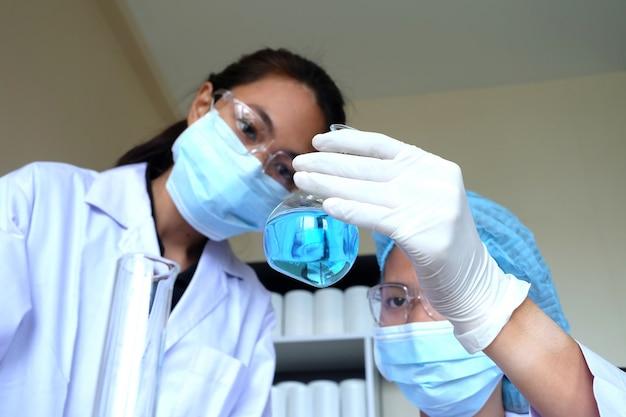Recherche en laboratoire