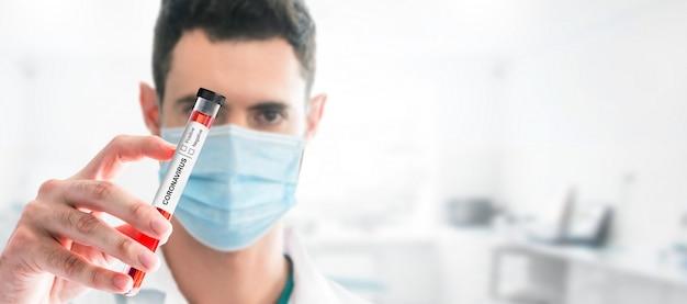 Recherche de vaccins pour tests médicaux sur les coronavirus