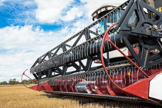 Récolte de blé par les récolteurs