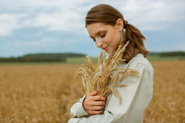 La récolte des céréales.
