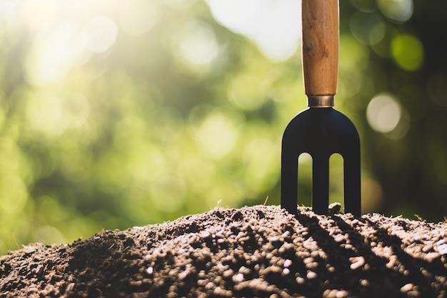 La récolte est au sol et le soleil du matin brille.