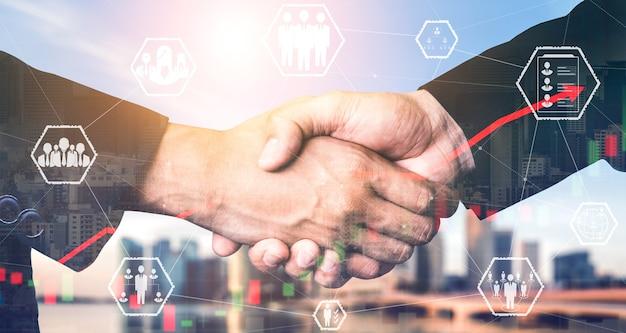 Recrutement des ressources humaines et réseautage de personnes