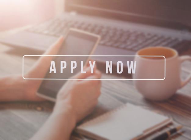 Recruteur de publicité pour les offres d'emploi, la recherche de candidats à embaucher pour des opportunités d'affaires.