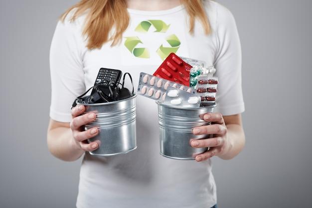 Le recyclage même des petits déchets est notre devoir