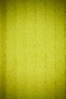 Recyclage de la texture du carton vert.