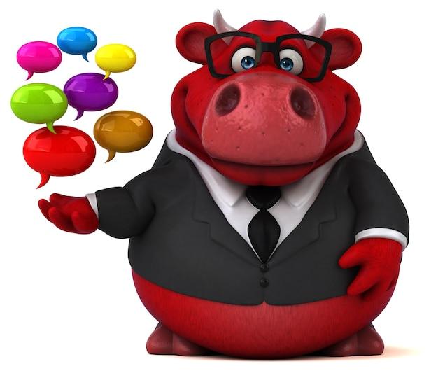 Red bull - illustration 3d