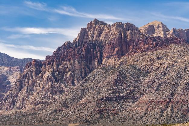 Red rock canyon, las vegas, nevada, états-unis
