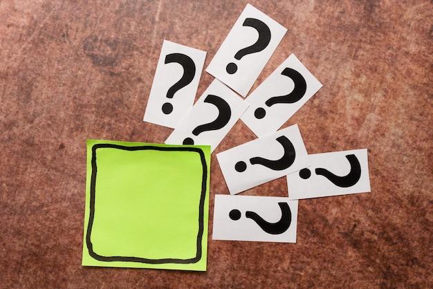 Rédiger des demandes de renseignements penser de nouvelles idées, briser le mystère de la confusion, poser des questions pertinentes, comprendre le raisonnement logique, enregistrer des notes importantes