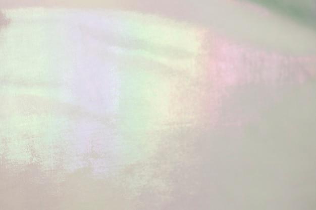 Réflexion rose et violet sur la texture plastique