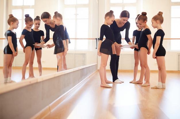 Regarder la danse tutoriel