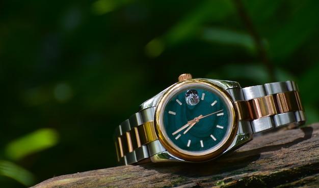 Regarder une montre-bracelet chère